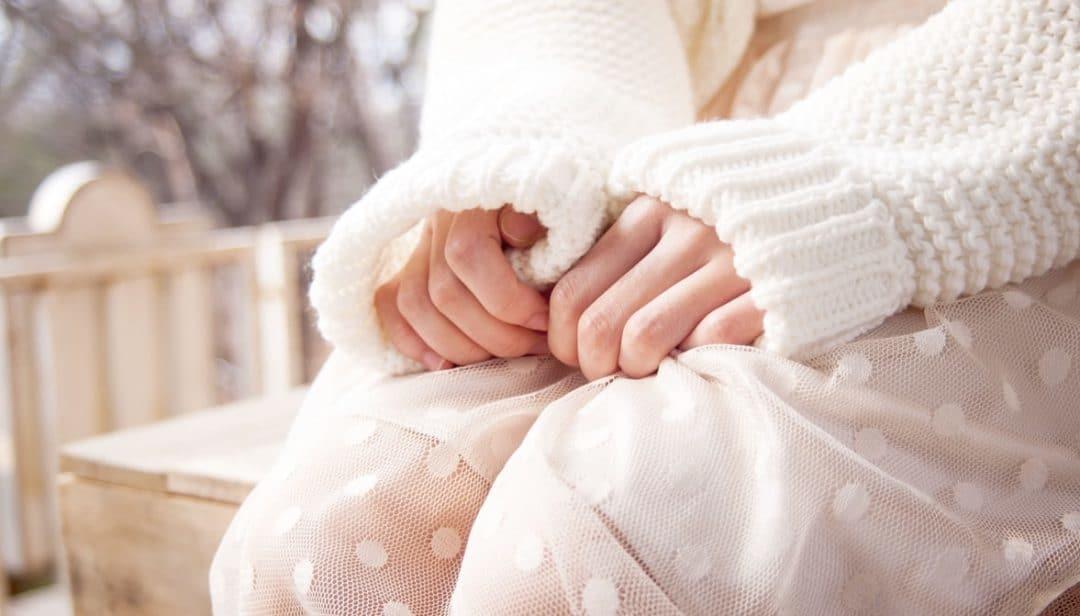 jupe à pois blanche plumetis