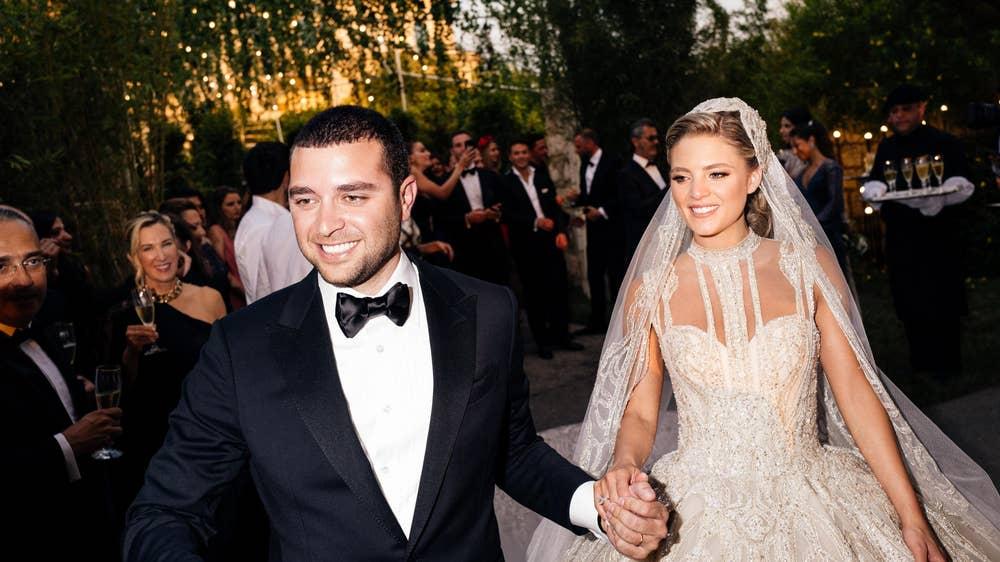 Elie Saab Jr et Christina Mourad mariage Liban