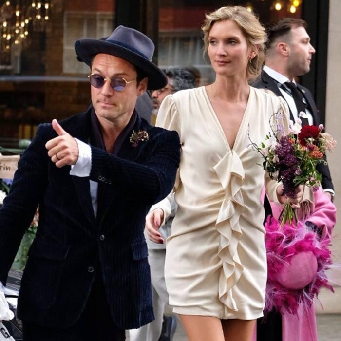 Jude Law et Phillipa Coan mariage