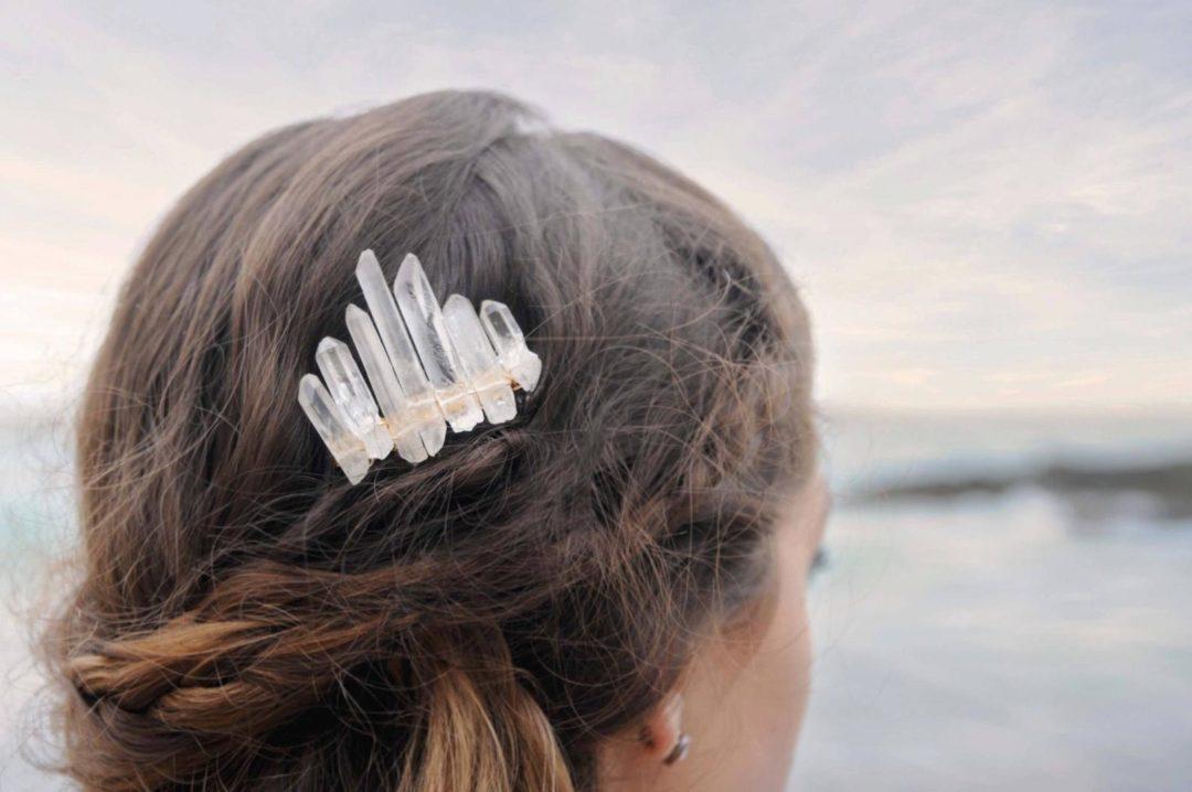 comment porter la couronne en quartz cristal pour un mariage 6