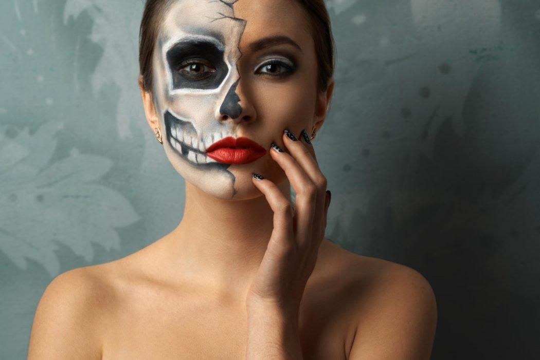 maquillage halloween facile tutoriel 5