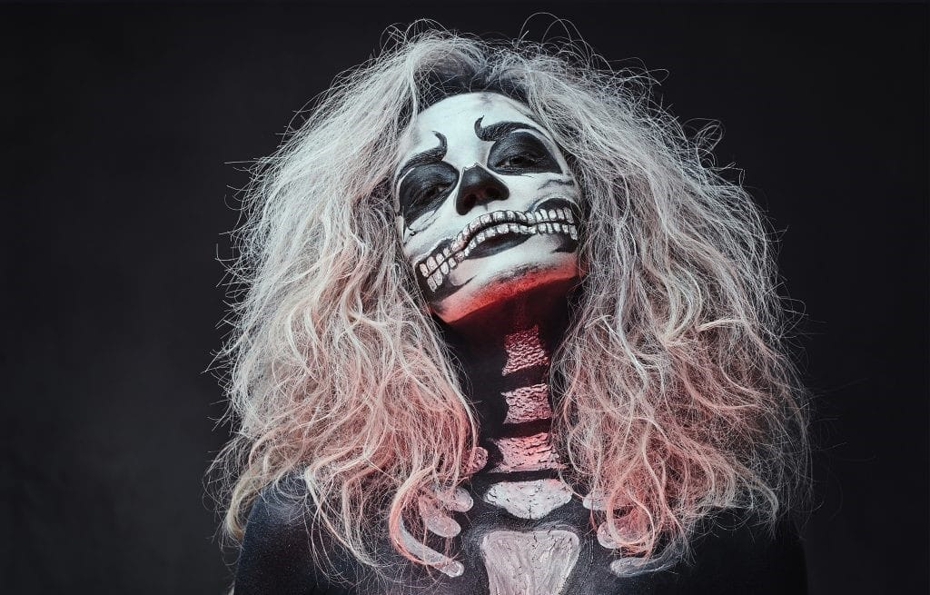 maquillage halloween facile tutoriel