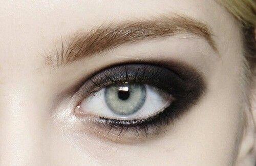 panda smudge eyeliner