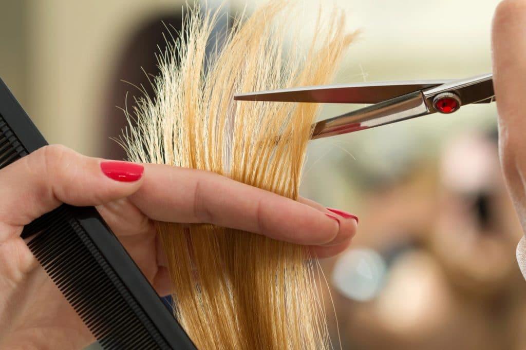 Coupe cheveux fins
