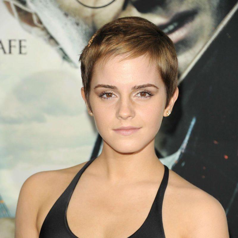 Emma Watson coupe garçonne