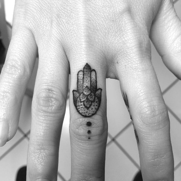 tatouage main de fatma