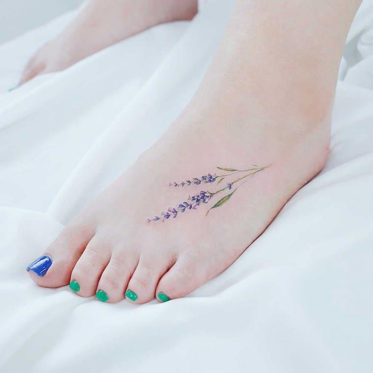tatuaje de lava