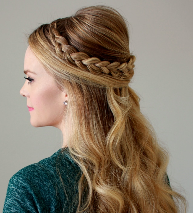 couronne tresse mariage 2