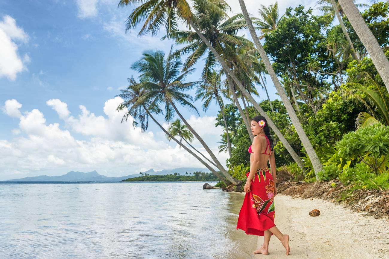 bronzage à la tahitienne monoi