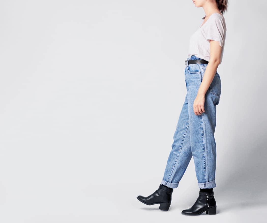 choisir jean coupe mom