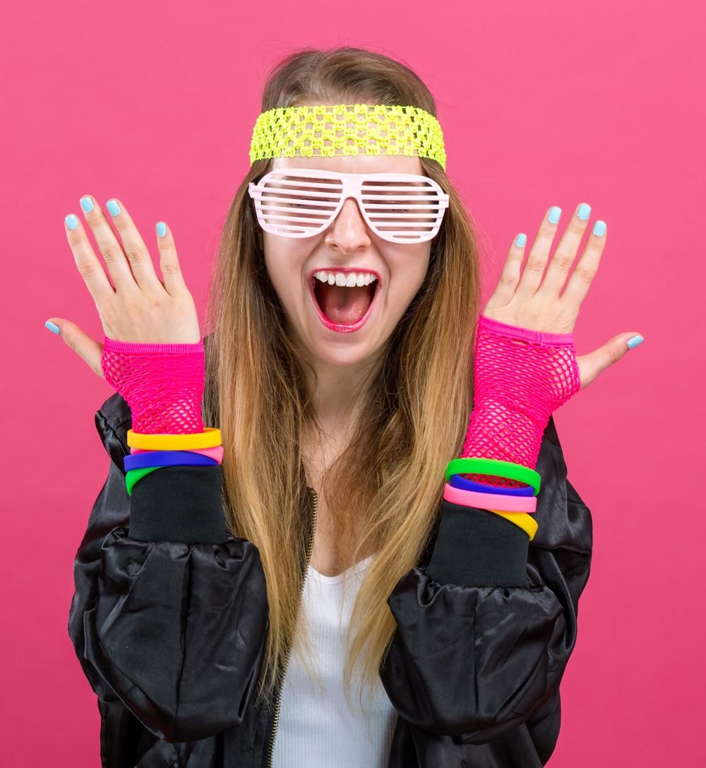 comment s'habiller pour une soirée années 80