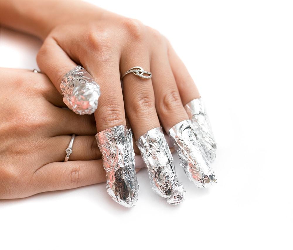enlever ongles résine