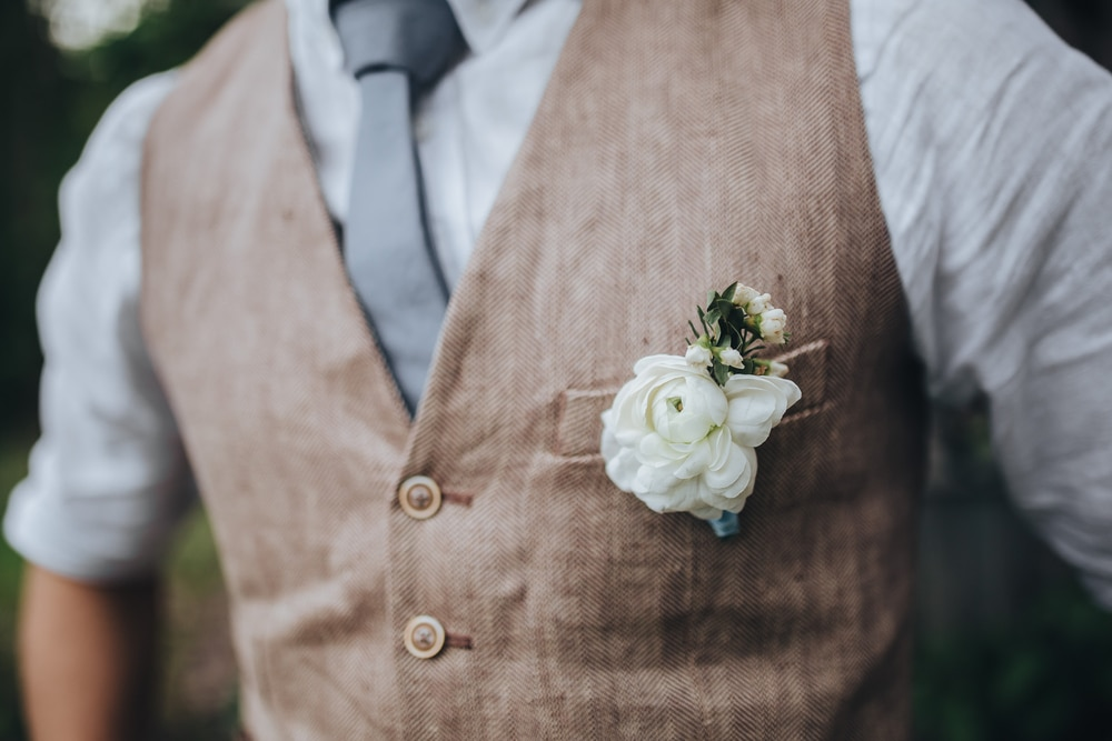 gilet mariage costume