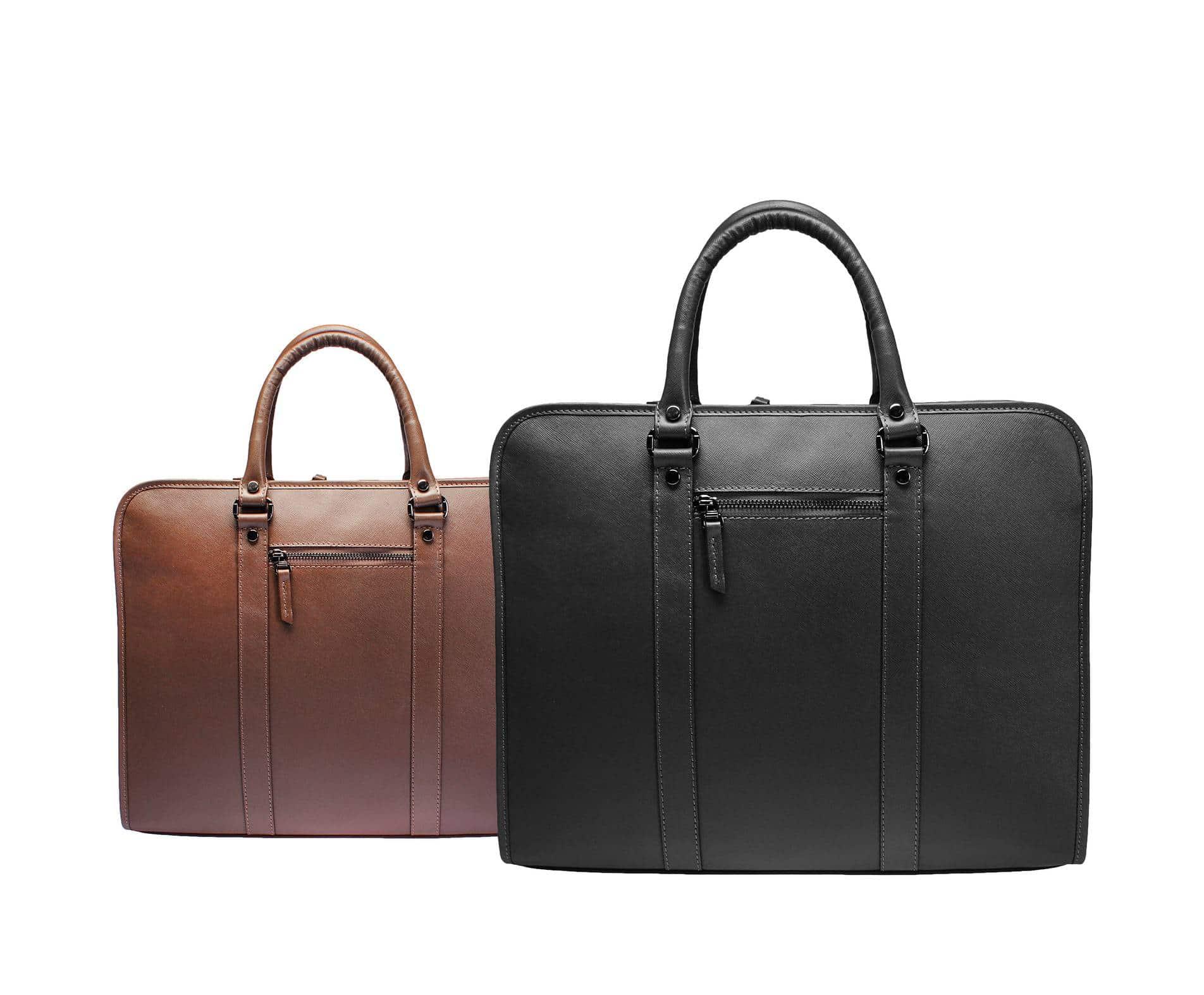 Porte-documents, sac à dos... la maroquinerie des hommes chics !