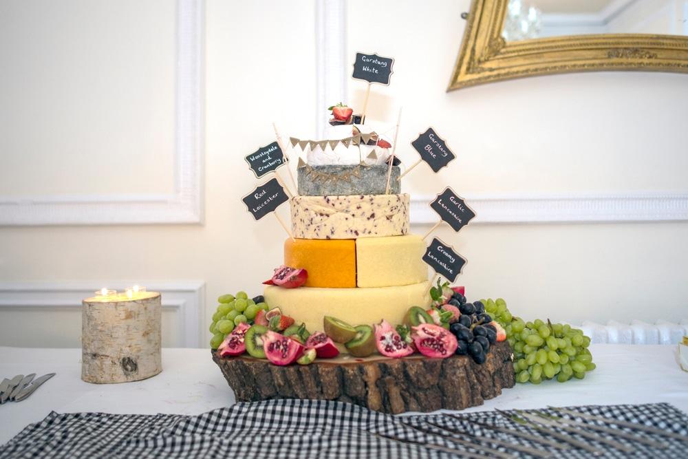 pièce montée de mariage fromage
