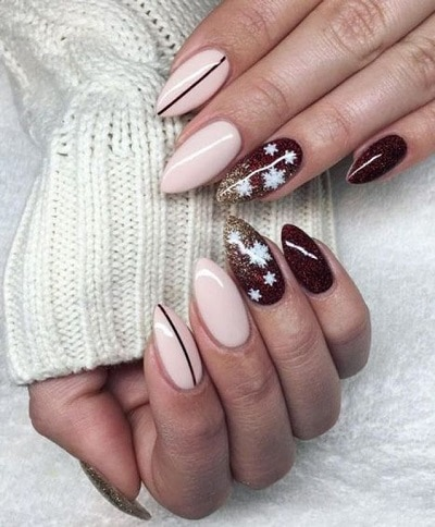 forme d'ongles pointus