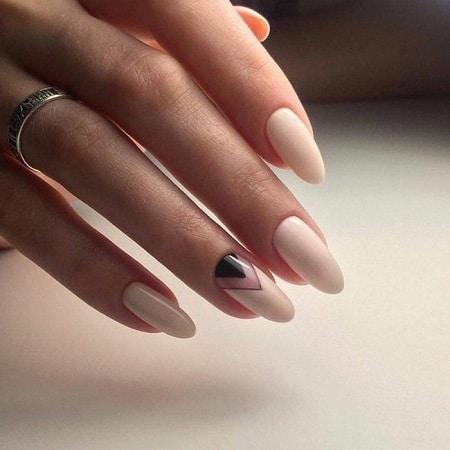forme ongle ovale