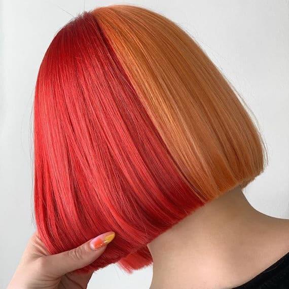 split hair couleur