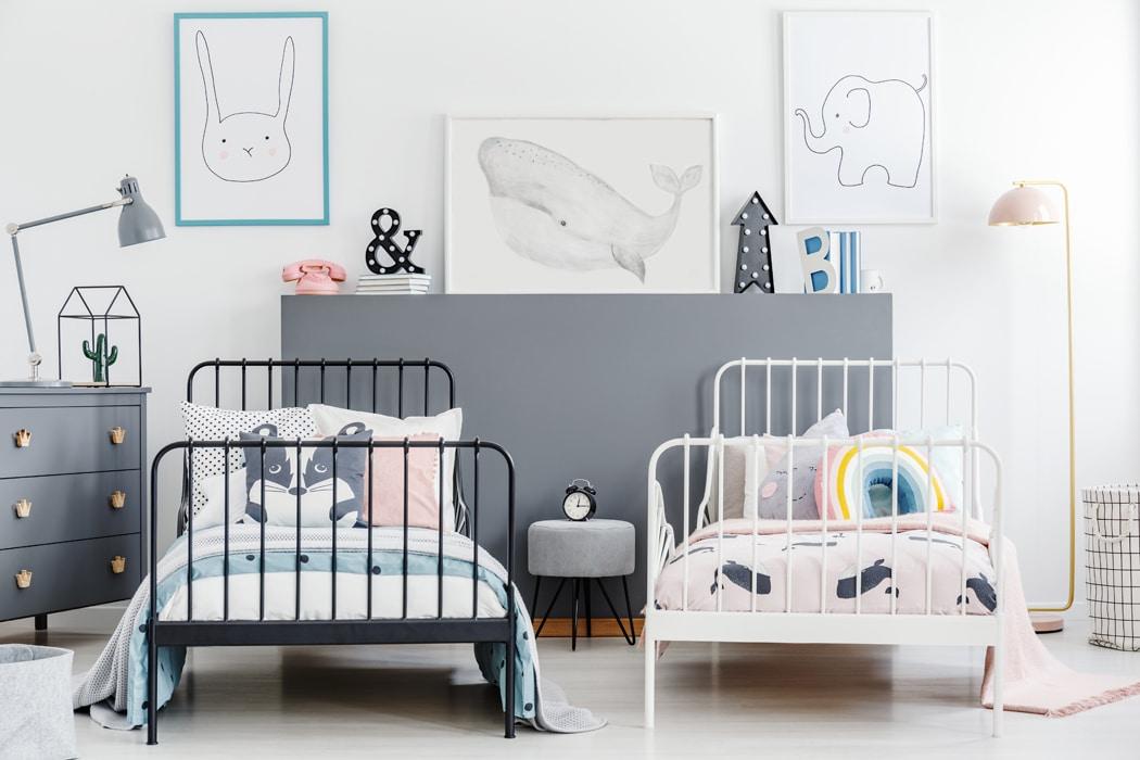 chambre d'enfant comment aménager plusieurs espaces