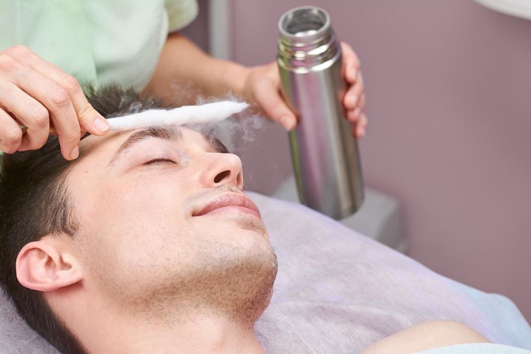 cryothérapie en institut de beauté