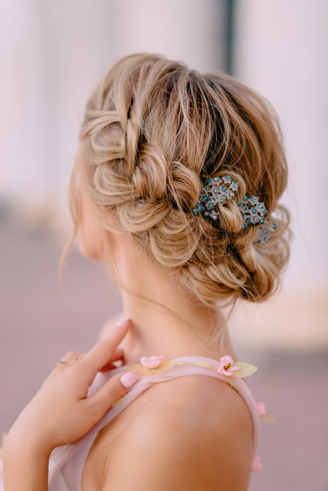 idées coiffures invitée mariage
