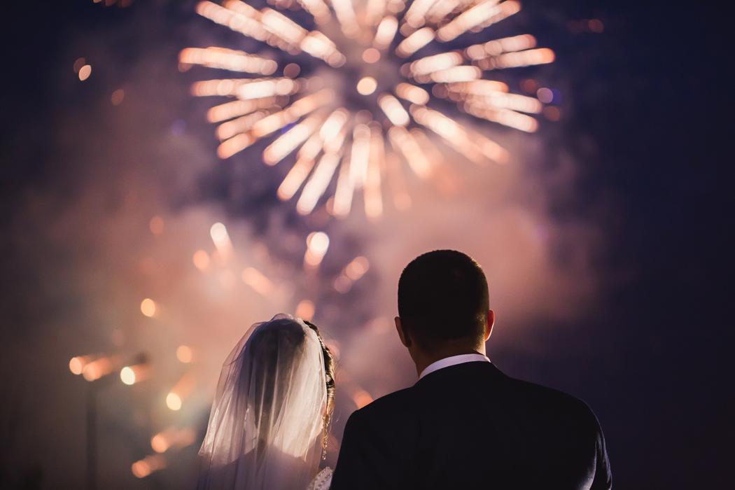 organiser feux d'artifices mariage