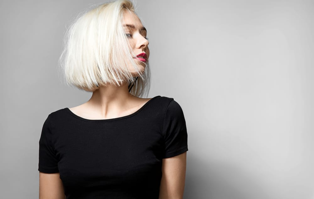teinture blanche cheveux