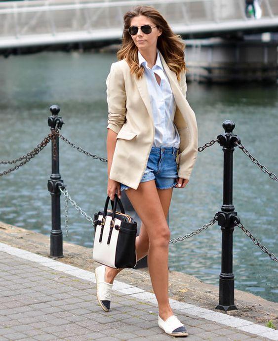 short en jean pour femme