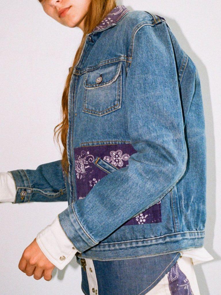 customiser sa veste en jean