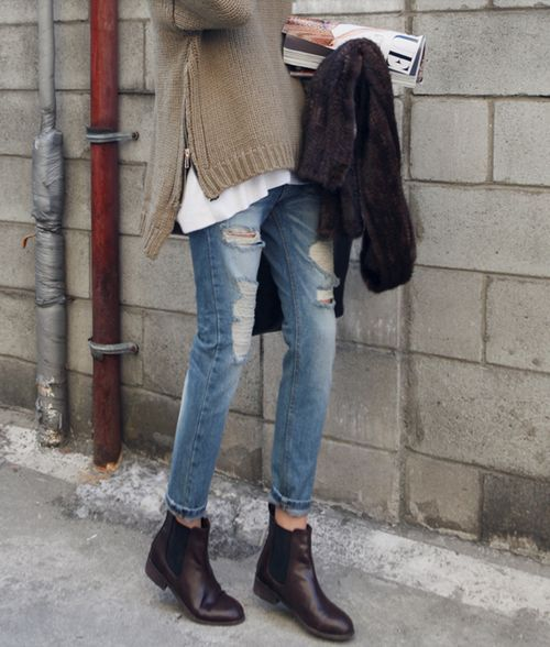chelsea boots femme